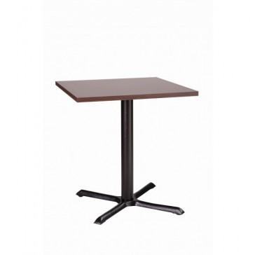 Cross Cafe Table Walnut MFC Top