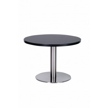 Stainless Steel Coffee Table Wenge Top
