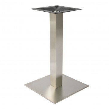 Stainless Steel Square Dining Table Base