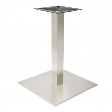 Stainless Steel Large Square Dining Table Base