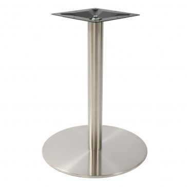 Stainless Steel Round Large Dining Table Base