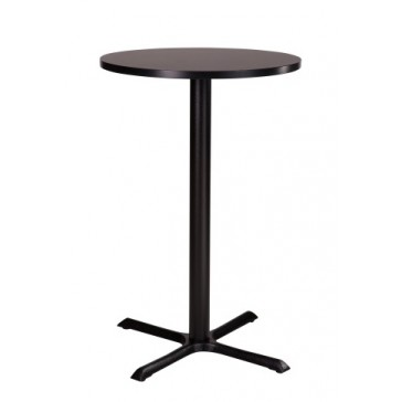Cross High Round Table Wenge