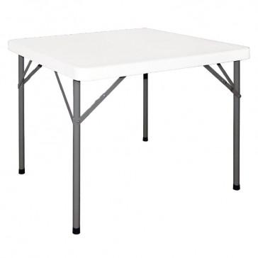 Square Folding Table 3ft White