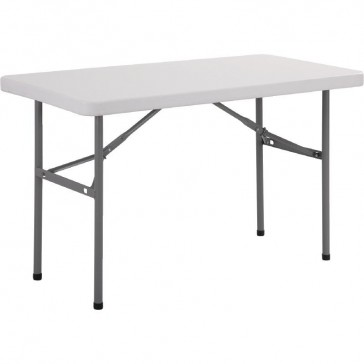 Rectangular Folding Table White 4FT