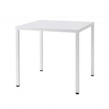 Summer Galvanized Steel Table White