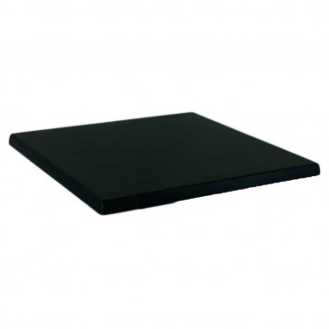 Werzalit Table Top Black Square