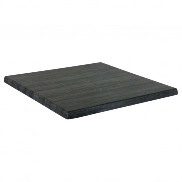 Werzalit Table Top Palissade Grey Square