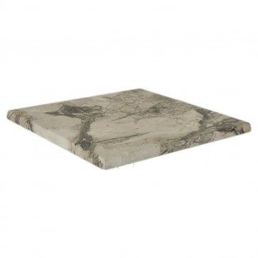 Werzalit Table Top Marble Almeria Square