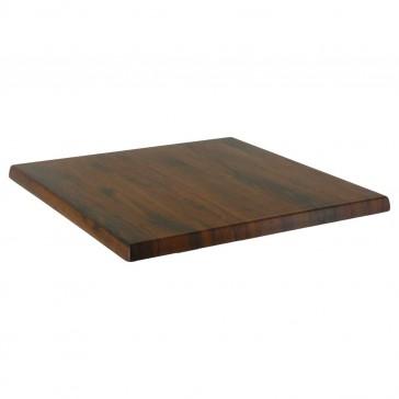 Werzalit Table Top Oak Antique Square