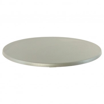 Werzalit Table Top Alu Round