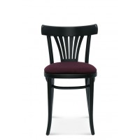 Classic Fanback Chair Upholstered