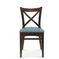 Chair Bistro Crossback Upholstered