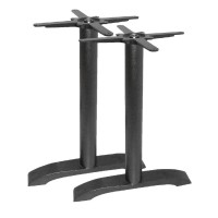 Cast Iron Twin Leg Table Base