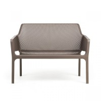 NARDI Net Bench Dove Grey