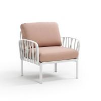NARDI Komodo Lounge White / Rosa