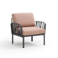 NARDI Komodo Lounge Anthracite / Rosa
