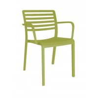 Lama Arm Chair Olive Green