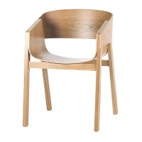 Merano Armchair Ton Solid Oak