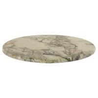 Werzalit Table Top Marble Almeria Round