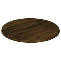 Werzalit Table Top Oak Antique Round
