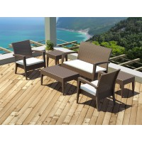 Miami Lounge Set  Brown